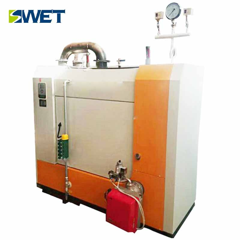 New oil and gas dual-purpose hot water steam boiler from swet company